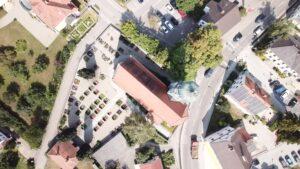 Friedhof Buttenwiesen Kirche