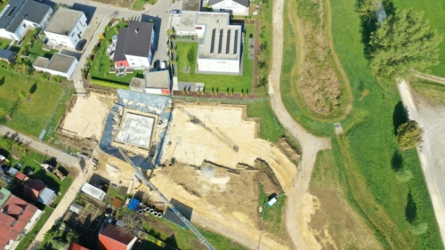 Baustelle Wertingen Kindergarten